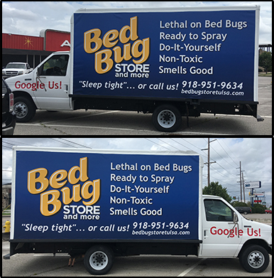 Bed Bug Store Banners