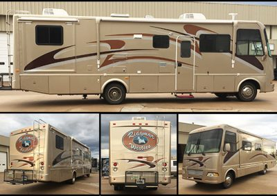Ridgmar Westies RV Full Wrap