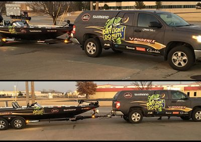 James Elam Boat and Truck Wrap Matte Finish