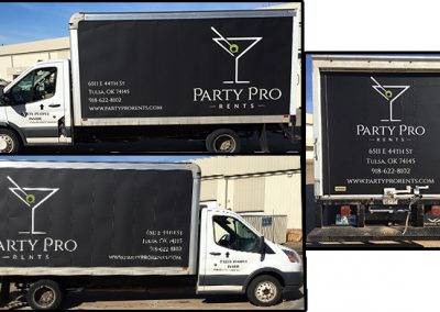 Party Pro 16ft Box Truck